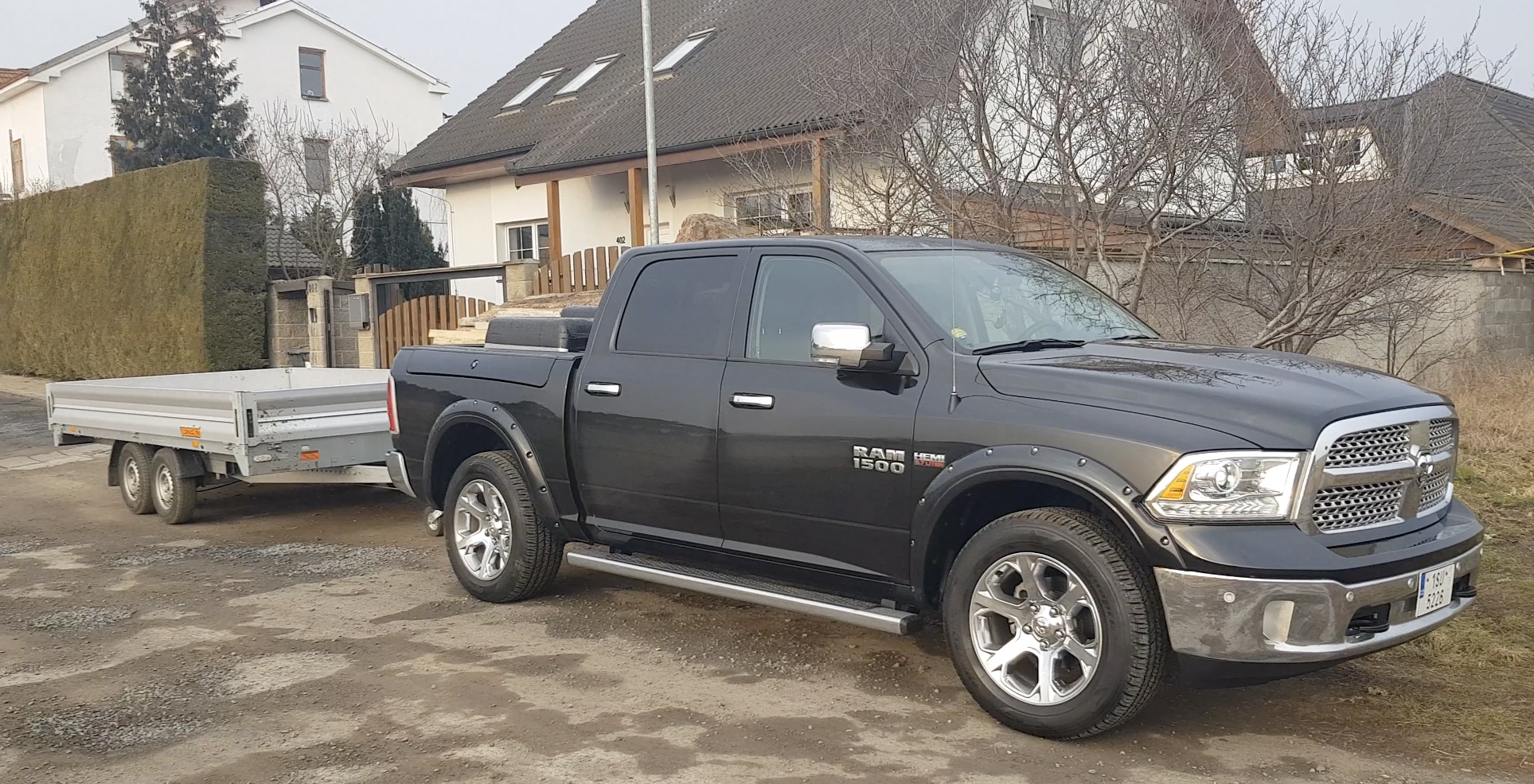 So What S It Like To Drive And Tow With An American Ram 1500 Pickup In Europe Video The Fast Lane Truck