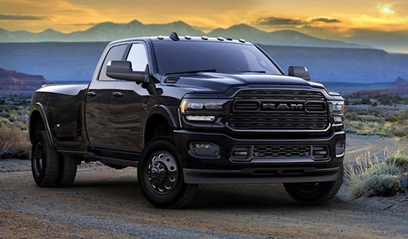 2020-ram-hd-3500-limited-black - the fast lane truck
