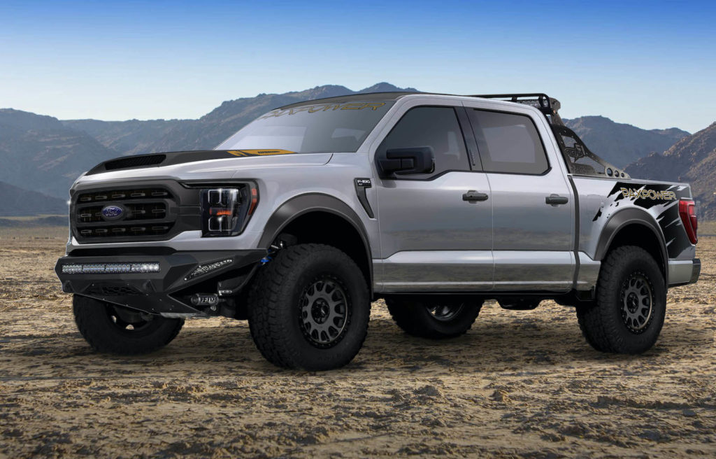 2021 ford f-150 v8 supercharged