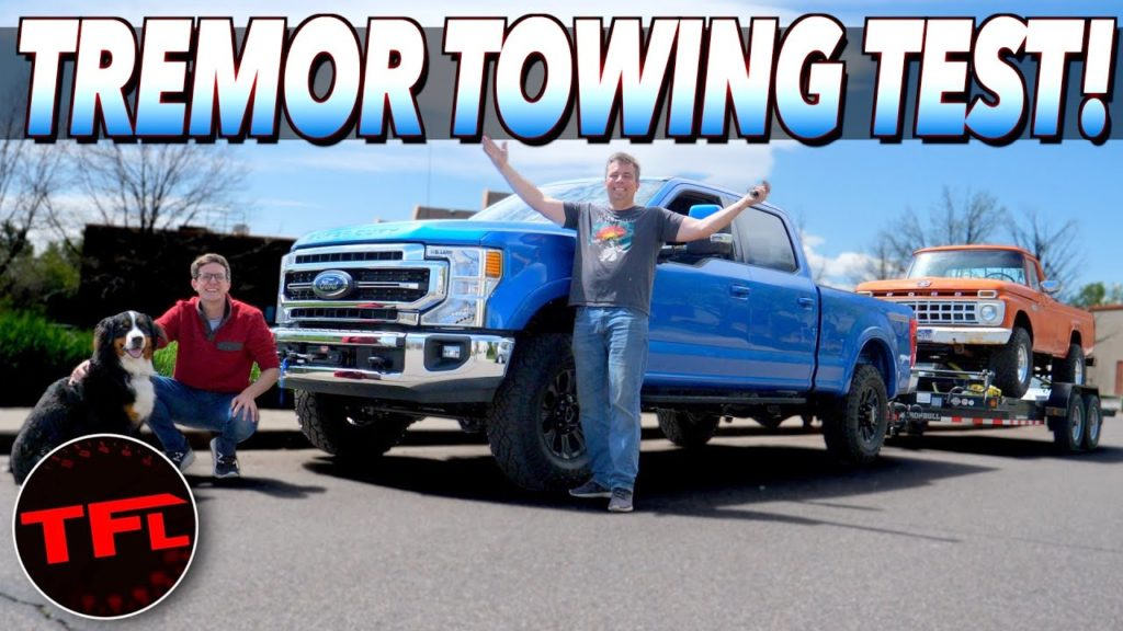 2021 ford f-250 tremor gas v8 towing review f-100